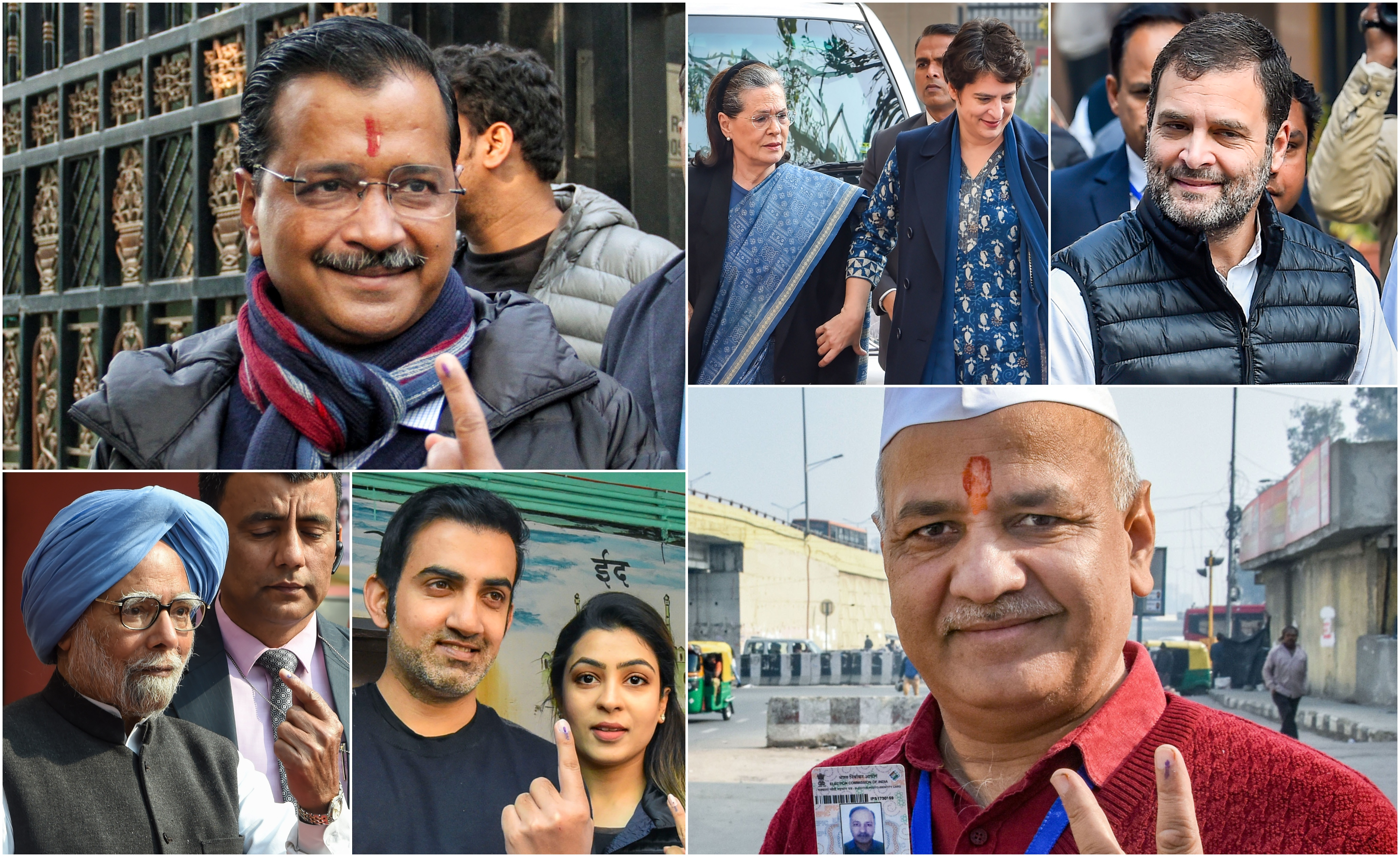Delhi Assembly election sees 61.18% voter turnout; Mustafabad, Seelampur and Gokalpur seats record highest figures